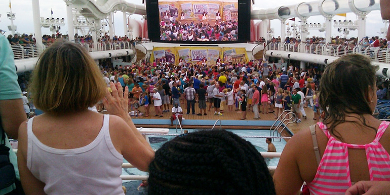 Best Line for Large Groups - Disney Cruise Line