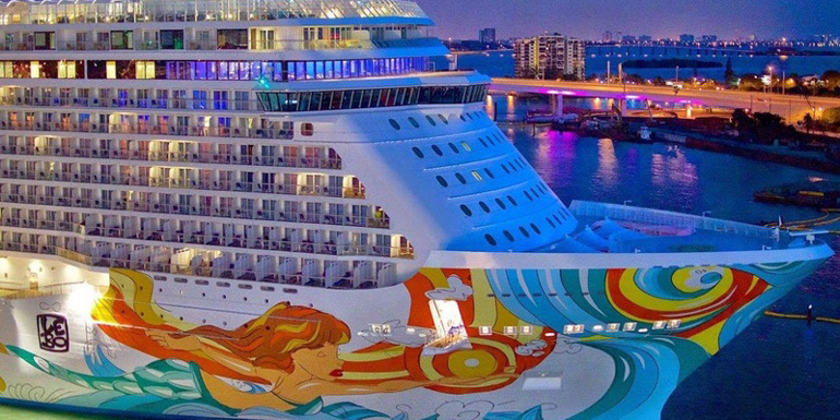 Best New Ship in 2014 - Norwegian Getaway