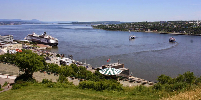 Best Canada / New England Departure Port - Quebec City