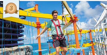 norwegian cruise line best onboard activities