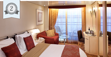 best cruise ship balcony cabin celebrity