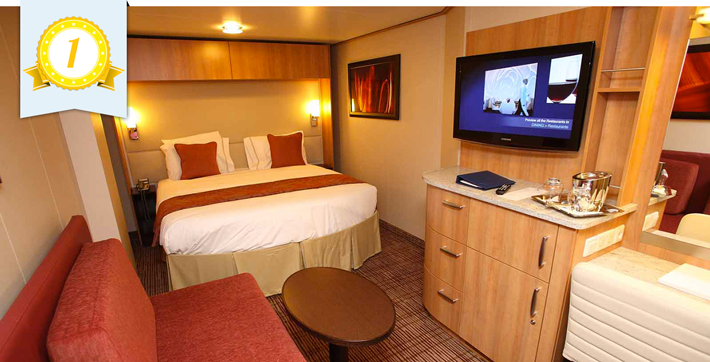 Inside Cabins on Cruise Ships: Whose is Best? Video - YouTube