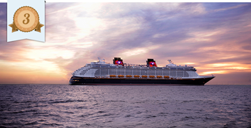 most improved cruise ship disney dream