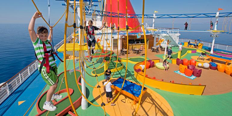carnival skycourse cruise ship workout