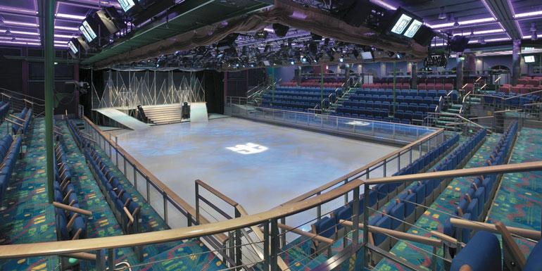 ice skating royal caribbean cruise workout