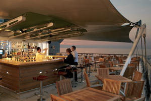 celebrity sunset bar cruise ship hideaways