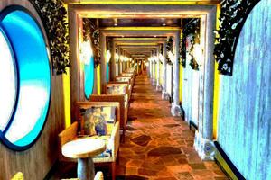 costa atlantica terrazza giardino cruise ship