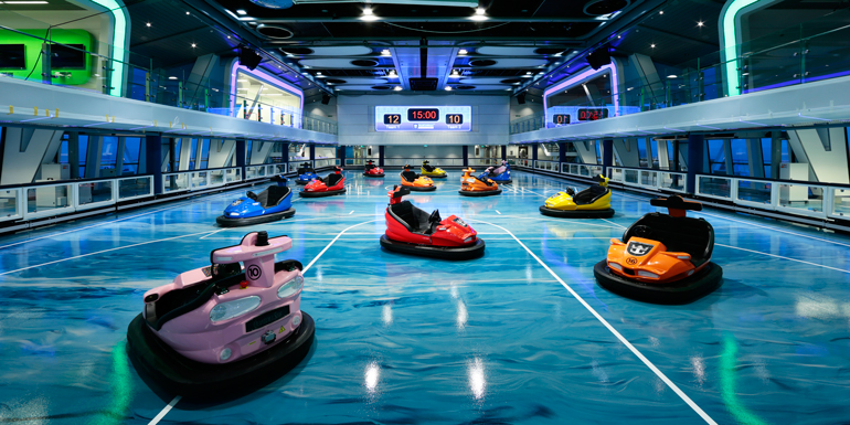 quantum of the seas bumper cars