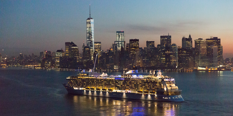 quantum of the seas new york