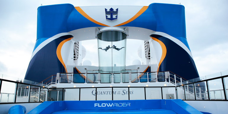 quantum of the seas sky diving simulator