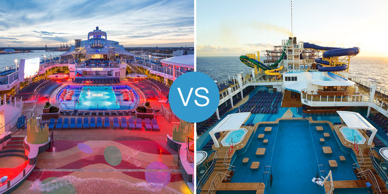 norwegian escape vs anthem seas smackdown