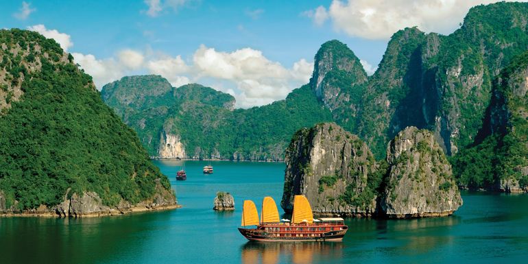 vietnam crusie asia sailing itinerary route