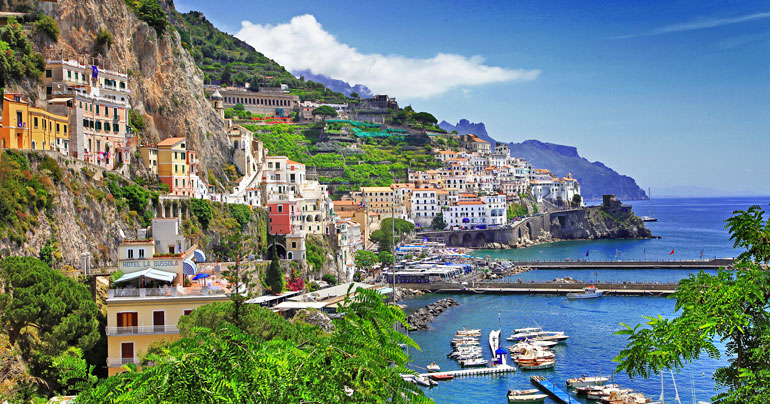 amalfi coast med mediterranean cruise