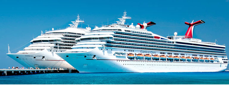 At the moment, Carnival sails more ships than any other (ocean) cruise line. True or False?
