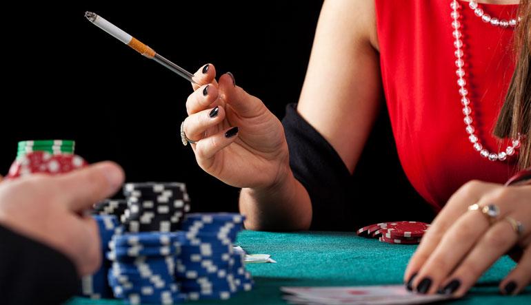 cruise ship casino smoking