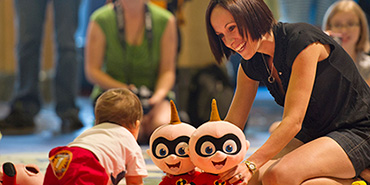 Baby races on Disney Cruise ship