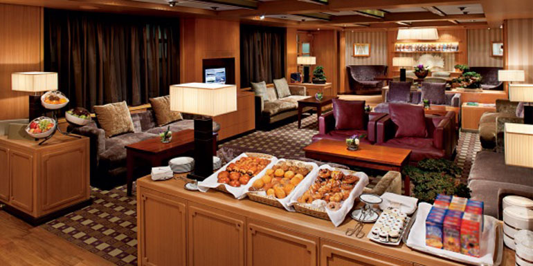 holland america neptune lounge