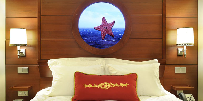 animated porthole disney cruise line