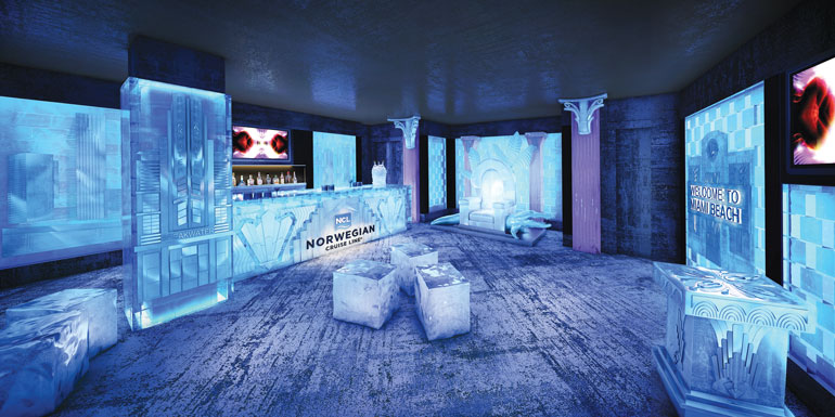 ice bar norwegian cruise ship