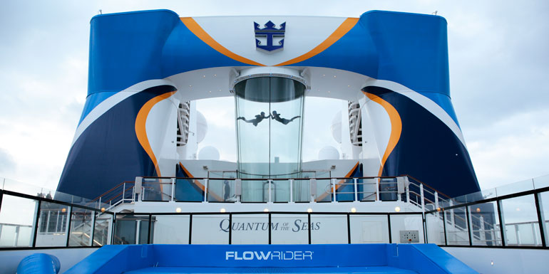 quantum seas sky diving cruise ship