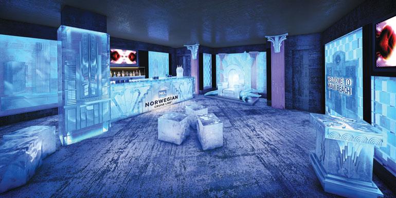 ice cruise ship bar getaway breakaway