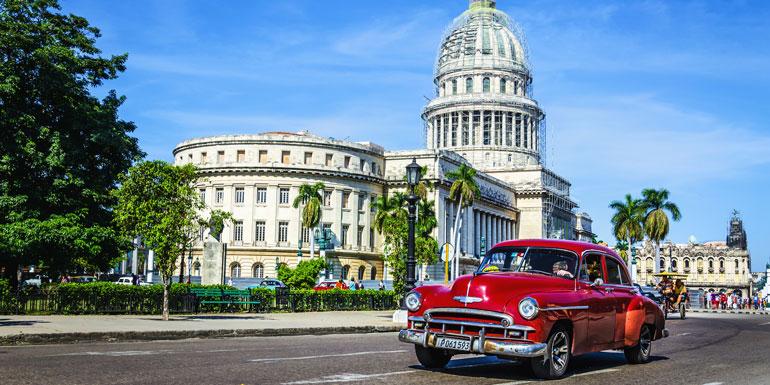 cuba cruise car havana