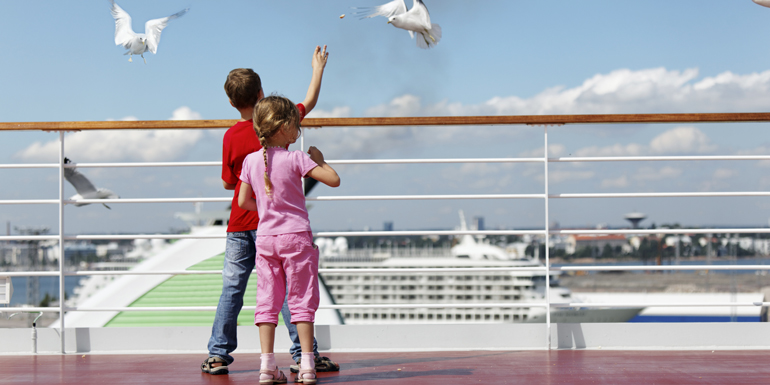 throw things overboard cruise ship
