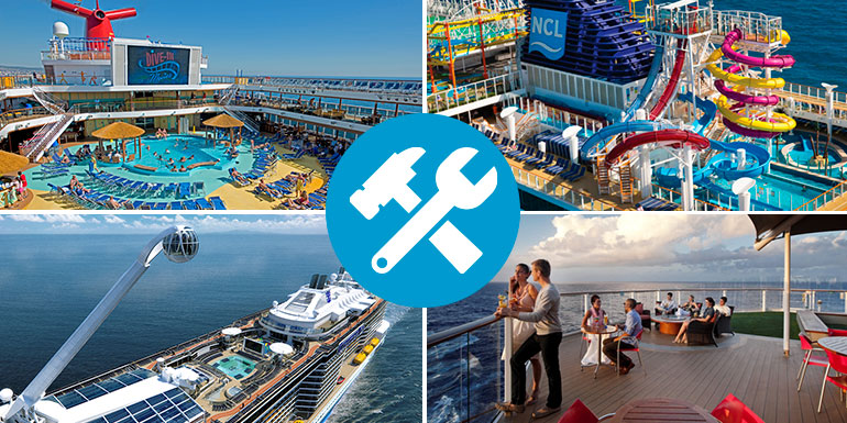 perfect cruise ship lido deck