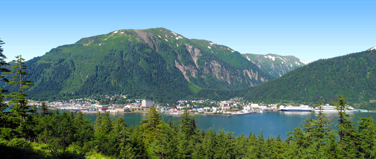 It's literally impossible to drive to this Alaskan port, so it's a good thing most inside passage cruises stop here.