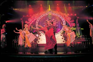 bollywood show on norwegian cruise ship