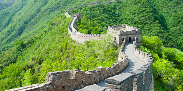bucket list great wall china summer