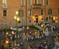 Al fresco restaurant in Venice