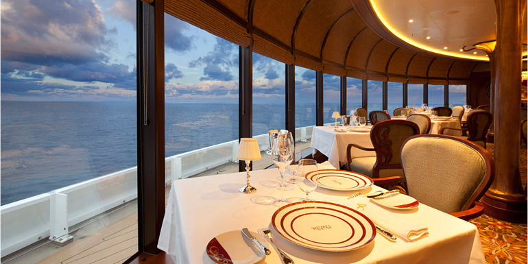 best cruise line food dining restaurants