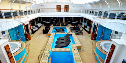 Norwegian Getaway Haven Courtyard