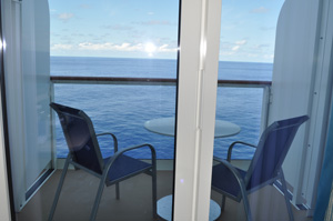 norwegian getaway large balcony cabin