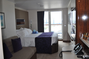 norwegian getaway spa mini suite balcoy