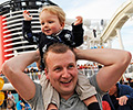 single parent cruise disney line