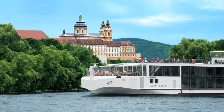 viking river cruise melk