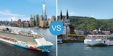 River vs. Ocean Cruises: Smackdown!