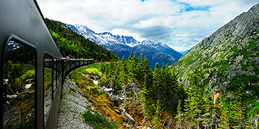 White Pass & Yukon Route train