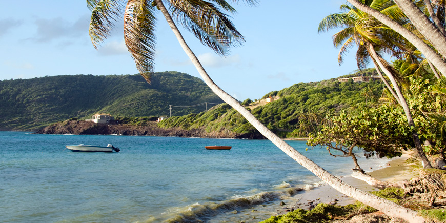 st vincent crescent beach bequia