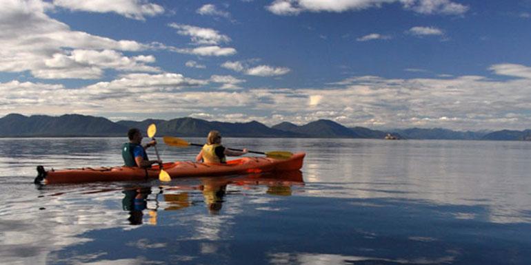 Alaska cruise tours kayak tatoosh islands