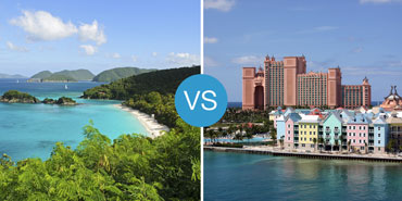 The Caribbean vs. the Bahamas: Smackdown!