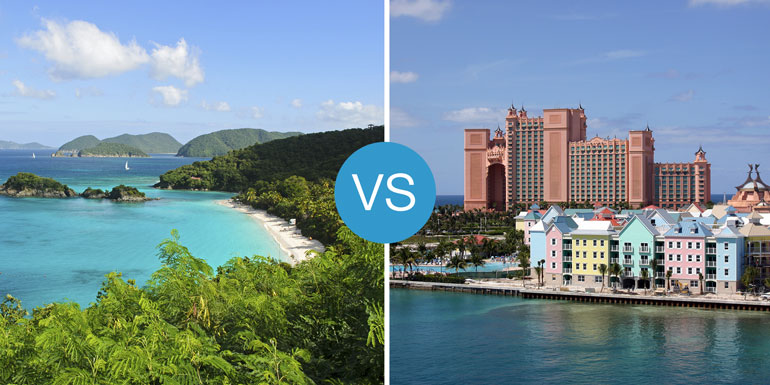 caribbean vs bahamas cruise smackdown best
