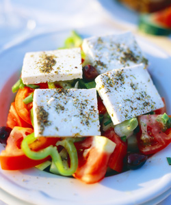 greek salad athens greece cruise