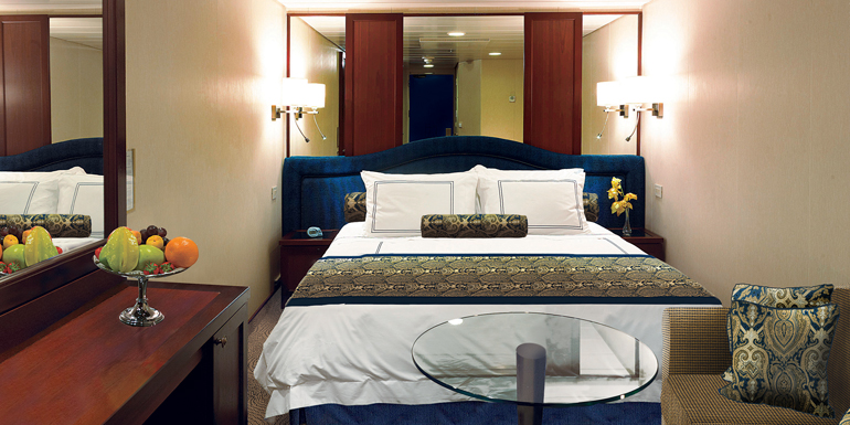 luxury oceania inside cabin cruise ship