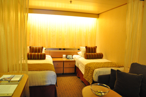 hal ms veendam interior cabin review