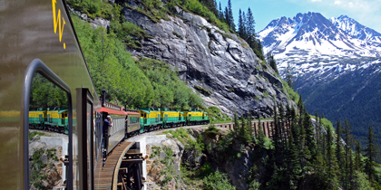 white pass alaska train cruise tour