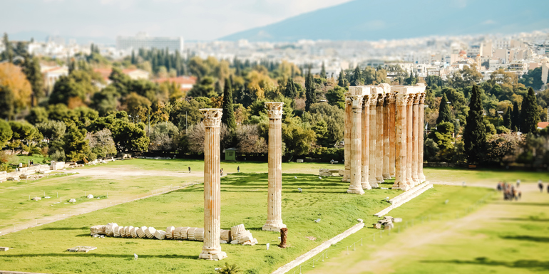 temple zeus athens mediterranean cruise tours