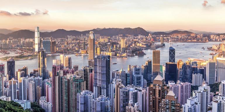 hong kong walkable cruise ports